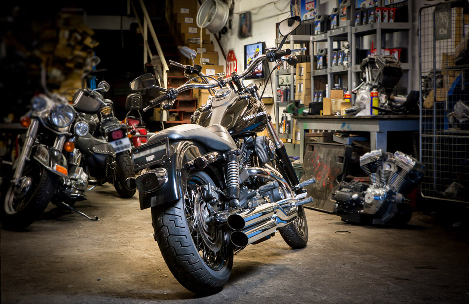 Customize your Harley the way you like it with Genuine Harley-Davidson new and used parts